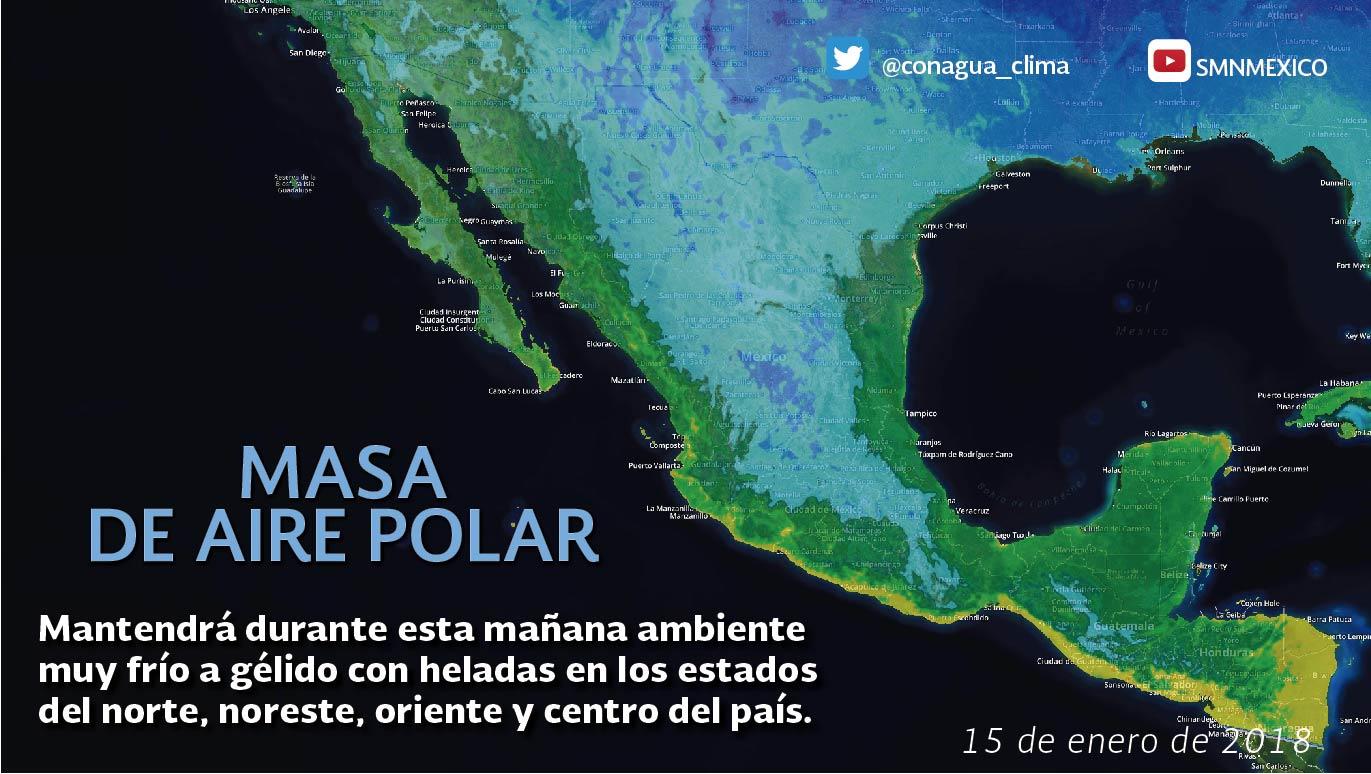 El fin de semana se registraron las temperaturas más bajas de la actual temporada invernal para Tlaxcala
