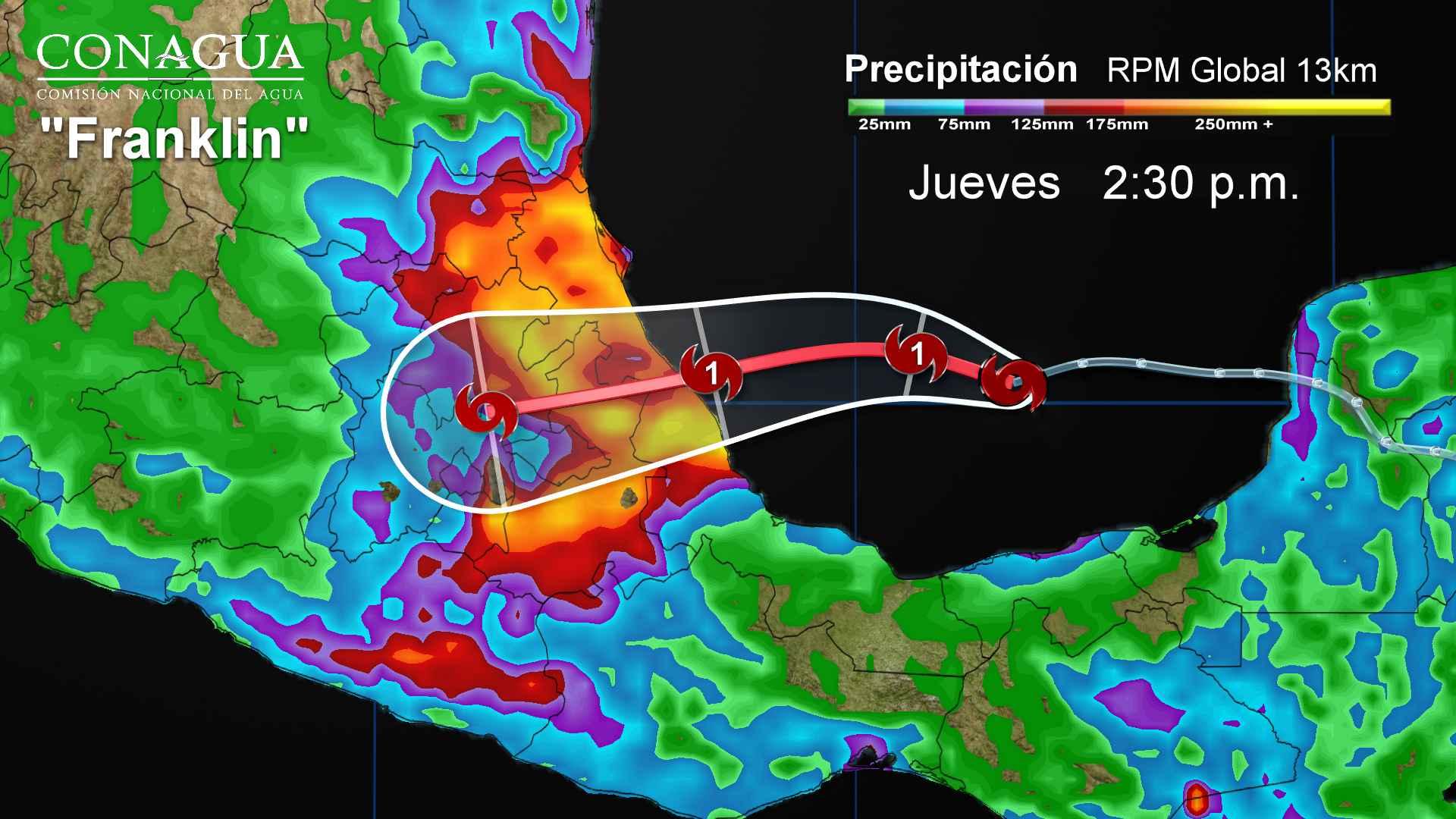 Lluvias muy fuertes se pronostican para Tlaxcala