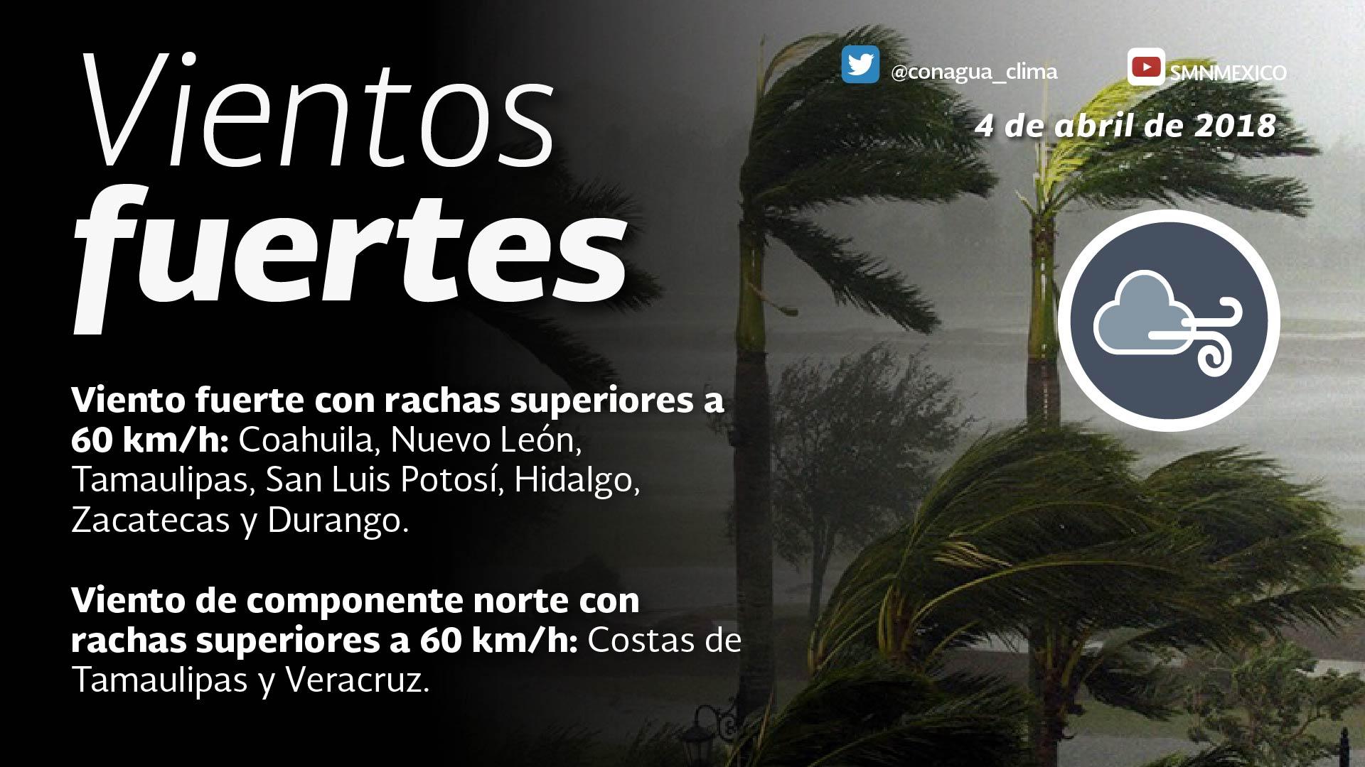 Se prevén intervalos de chubascos con tormentas puntuales fuertes para Tlaxcala