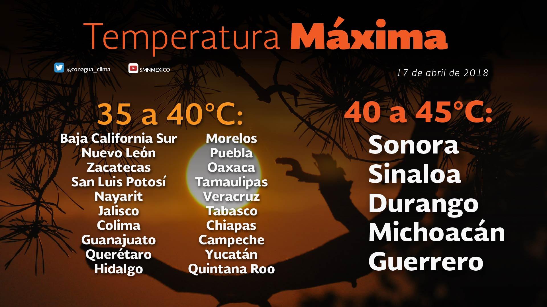 Se prevén nublados vespertinos para Tlaxcala