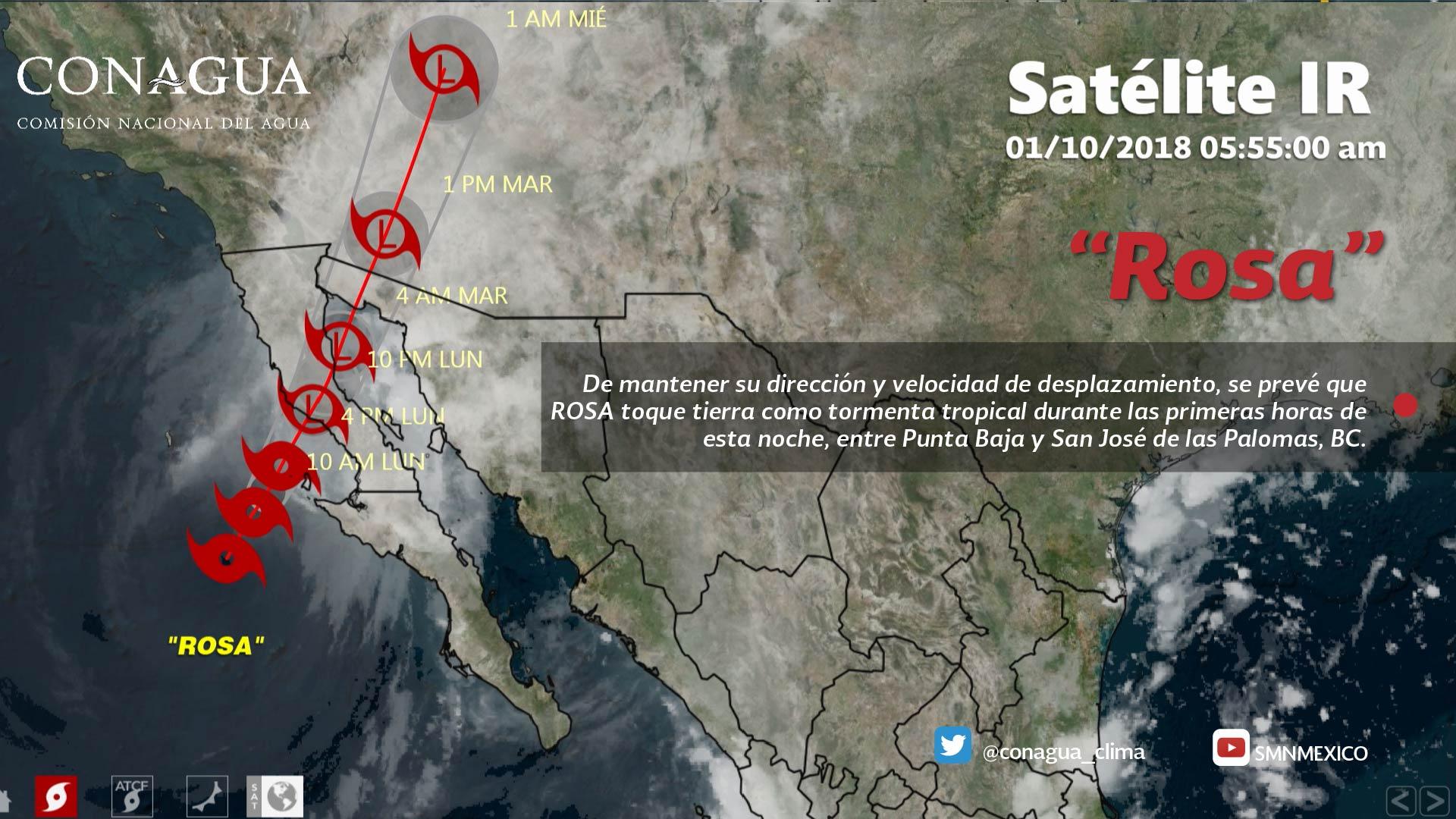 Se prevén tormentas fuertes para Tlaxcala