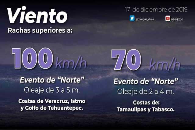 Hoy se prevé marcado descenso de temperatura en gran parte de México