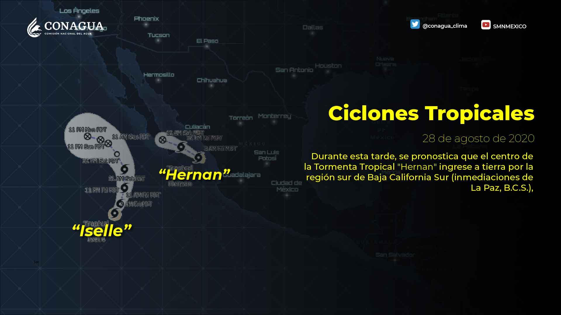 Posibilidad de lluvias en Tlaxcala por la llegada de Hernan