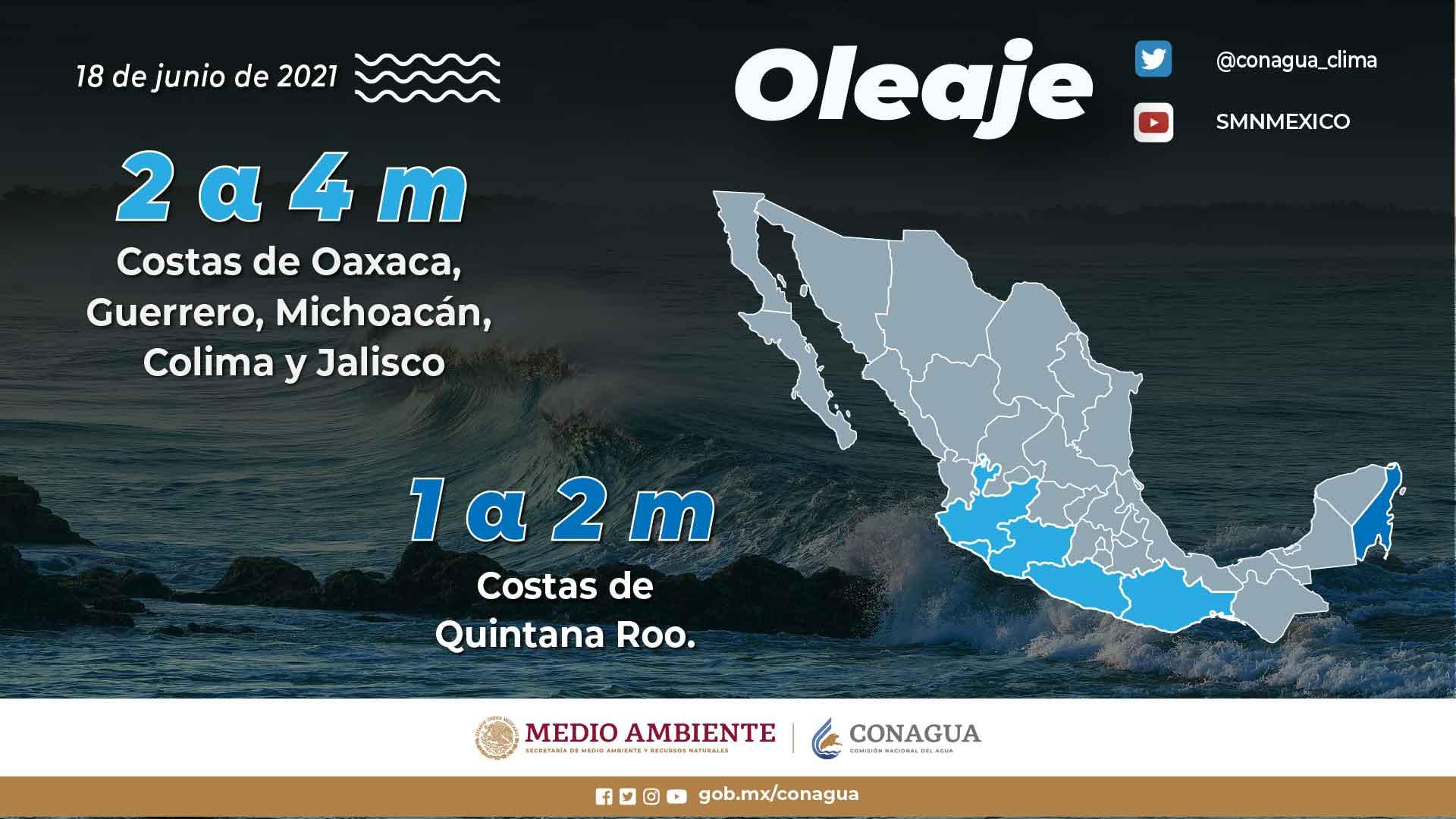 Alcanzarán las lluvias a Tlaxcala este fin de semana