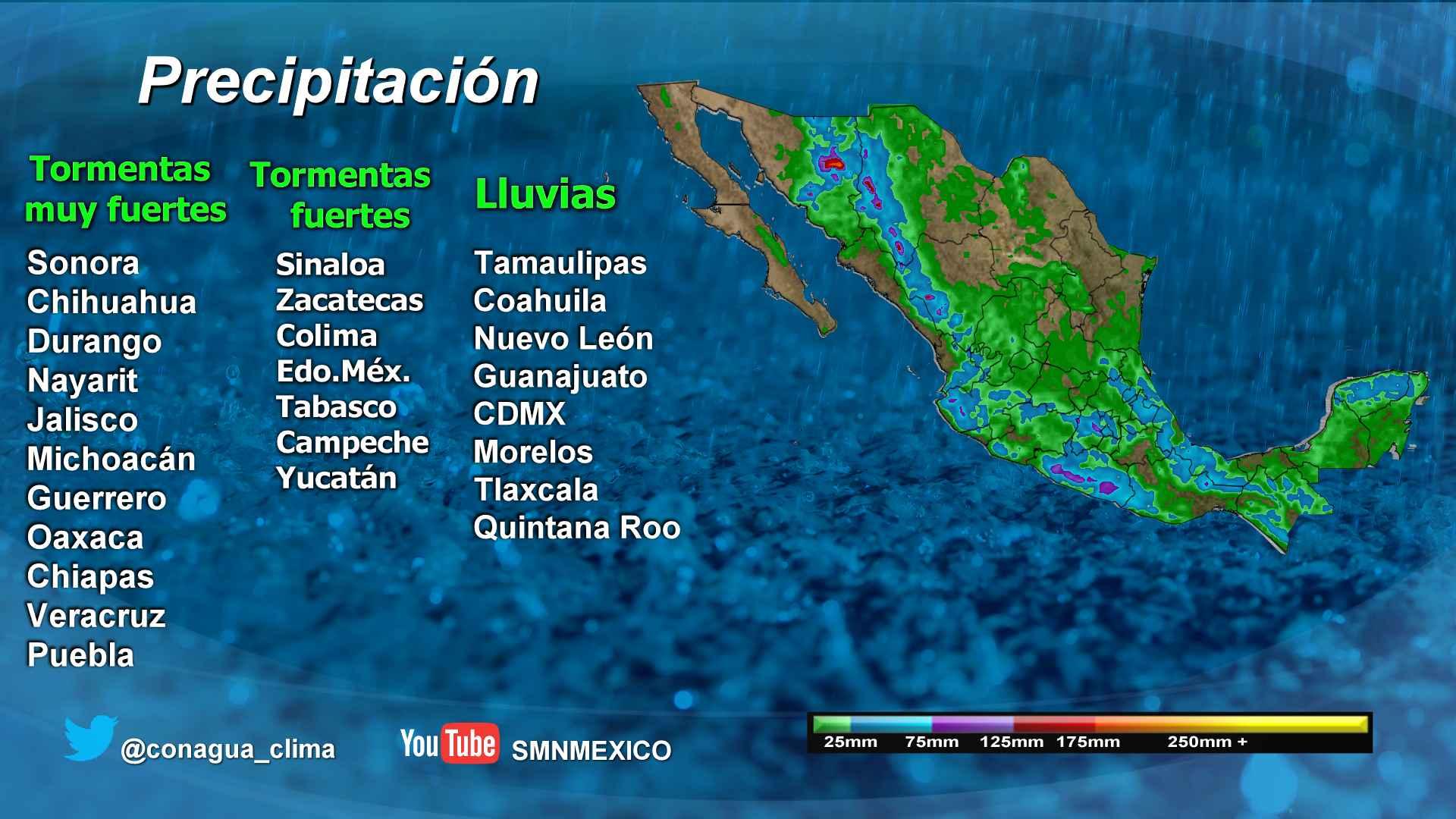 Se incrementará el número de ciclones tropicales en lo que resta de la actual temporada