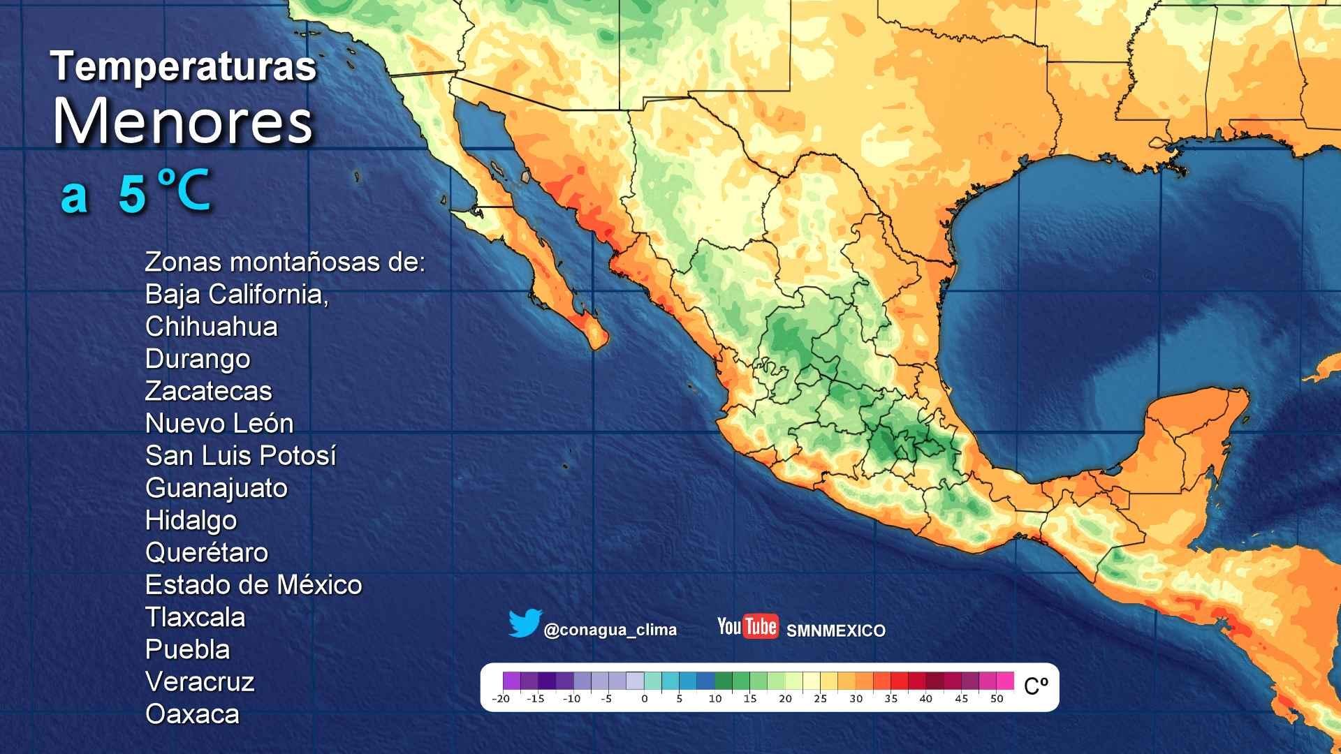 Prevalece el pronóstico de lluvias con intervalos de chubascos para Tlaxcala