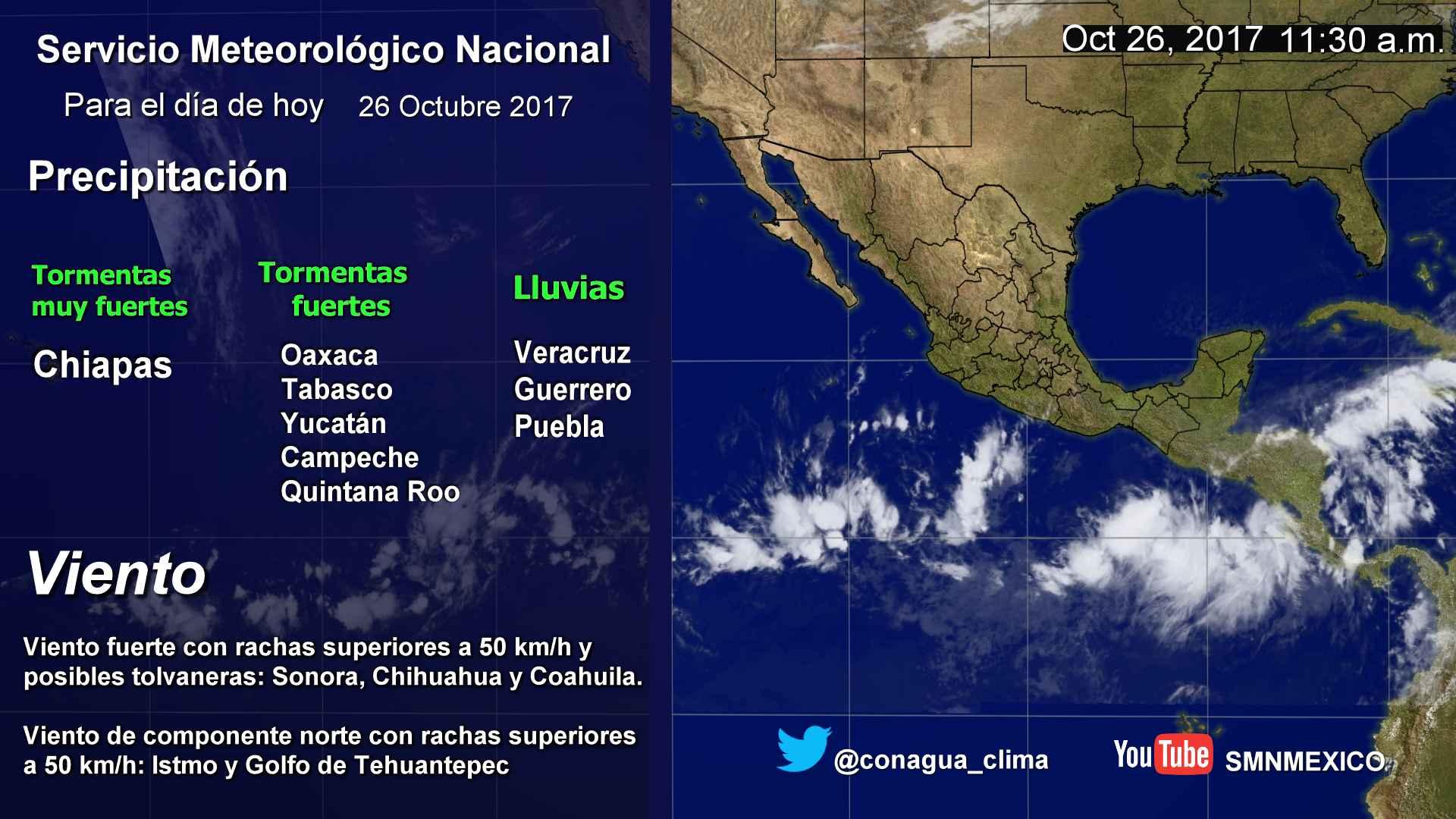 Prevalece pronóstico de bajas temperaturas para Tlaxcala