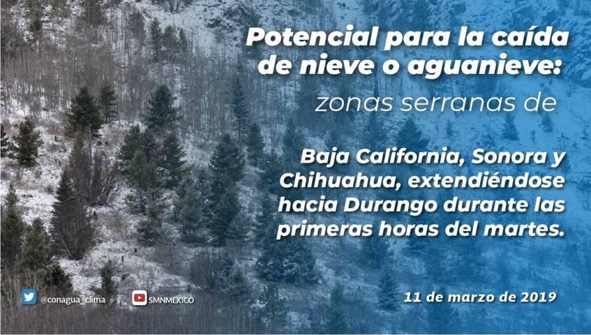 Clima cálido para Tlaxcala pero tormentas fuertes en el Norte