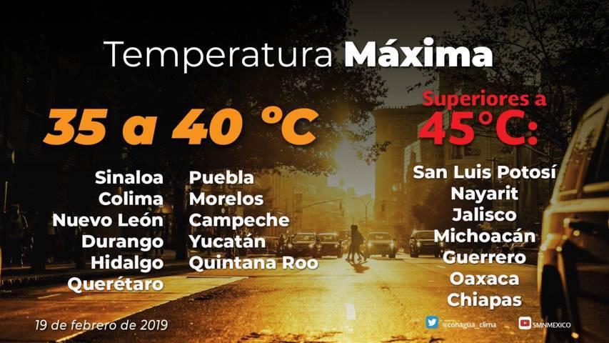Continuará la onda de calor en Tlaxcala