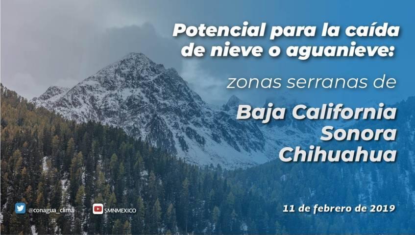 Se prevén temperaturas menores a -5 grados Celsius en sierras de Tlaxcala