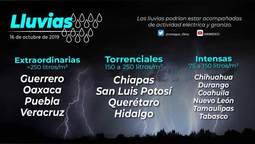 El Ciclón Tropical Potencial 17-E se localizó en tierra, a 65 km al nor-noreste de Puerto Ángel, Oaxaca