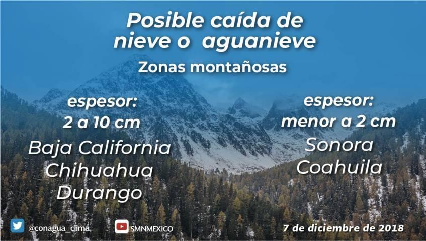 Se prevé ambiente frío por la mañana y noche, fresco durante el día para Tlaxcala
