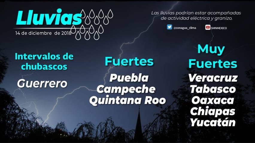 Se prevén lluvias aisladas y ambiente frío para Tlaxcala