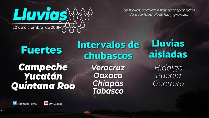 Se prevé descenso de temperatura y posibles heladas para Tlaxcala