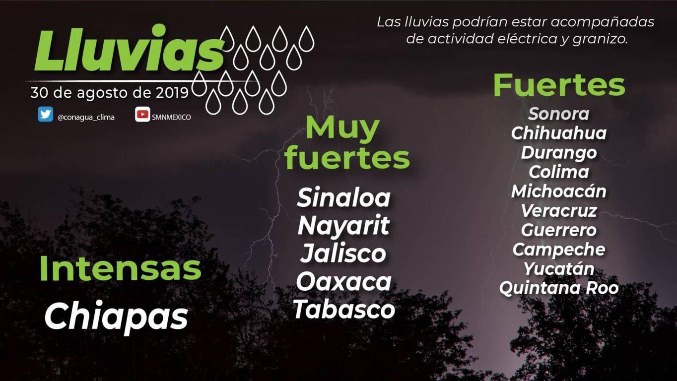 Para el día de hoy se pronostica cielo medio nublado y ambiente cálido para Tlaxcala