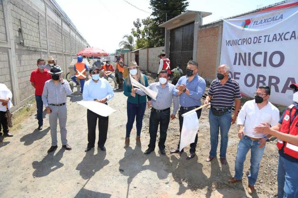 El ayuntamiento de Tlaxcala inicia obras y acciones en diferentes comunidades del municipio