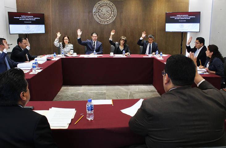 Instalan en Tlaxcala la primera Comisión de Estudios y Proyectos Legislativos