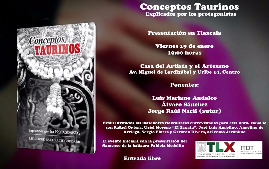 Presentará ITDT el libro Conceptos Taurinos Explicados por los Protagonistas