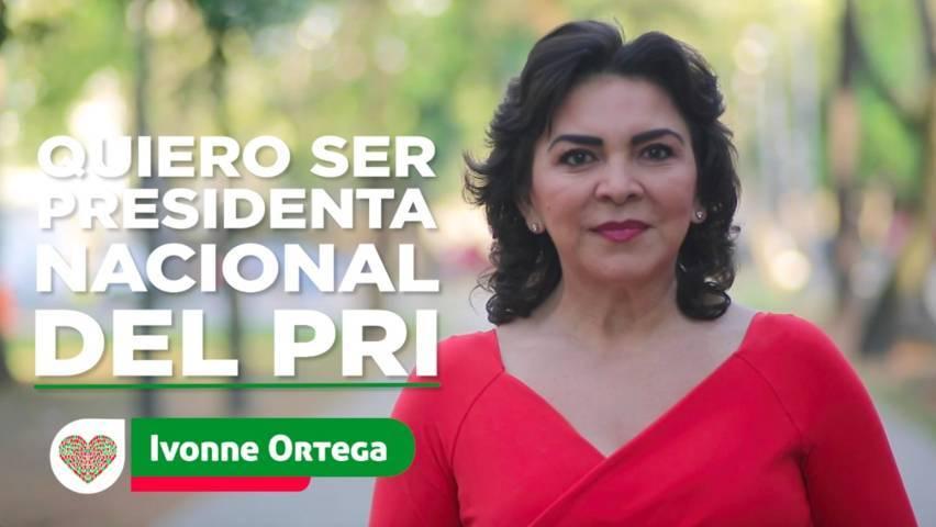 Sueña Ivonne Ortega con ser Presidenta Nacional del PRI