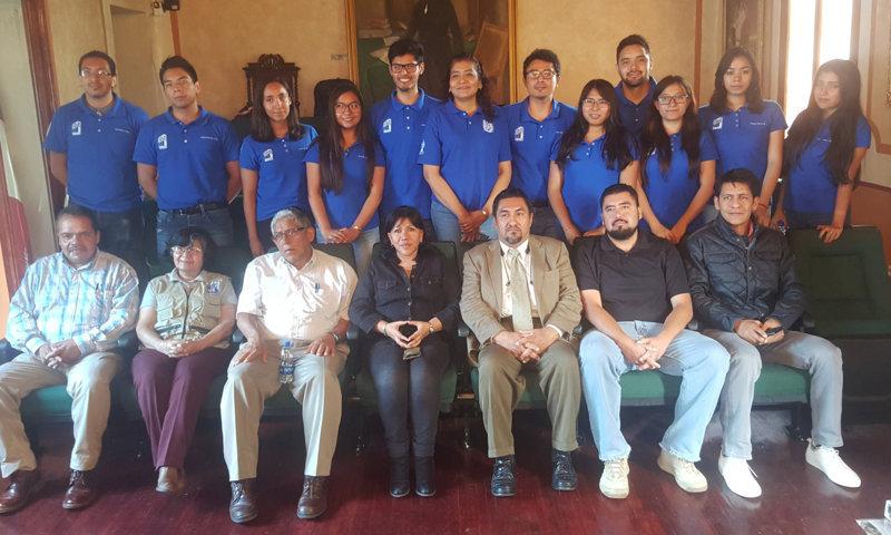 Entregan alumnos del IPN proyectos arquitectónicos al municipio de Tlaxcala