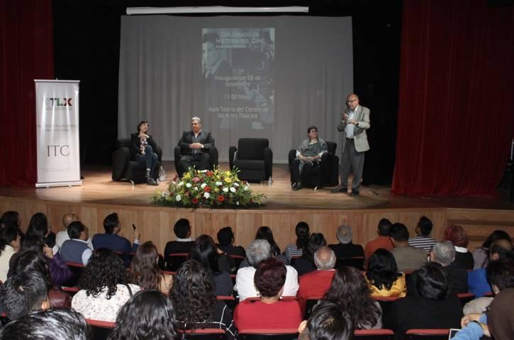 Inauguran ITC y Cineteca Nacional diplomado en historia del cine