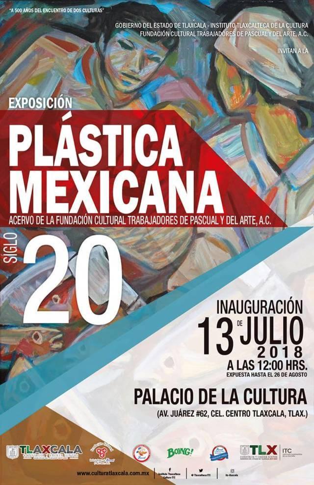 """Presenta ITC exposición """"Plástica Mexicana, Siglo 20"""""""