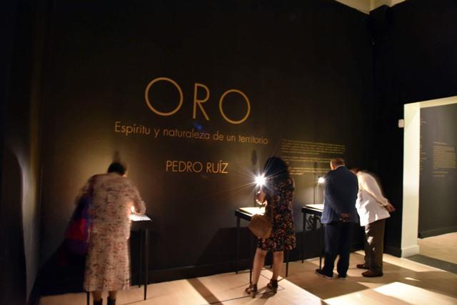Abren en el MAT exposición del artista colombiano Pedro Ruiz