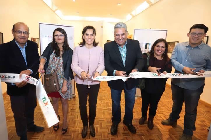 """Inaugura Sandra Chávez exposición """"Tlaxcala Pintada Con Luz"""""""