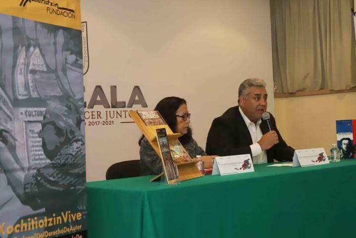 """Presentan ITC y Fundación """"Desiderio Hernández Xochitiotzin"""" actividades en honor al muralista"""