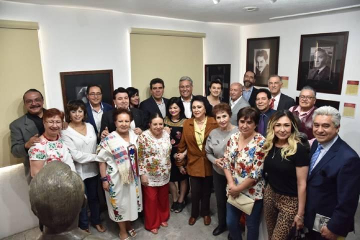 """Inaugura ITC exposición """"El Rostro Del Autor"""" en la Fonoteca Estatal"""