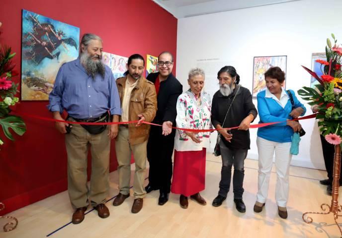 """Inaugura ITC exposición """"Una Entrañable Devoción Por México"""""""