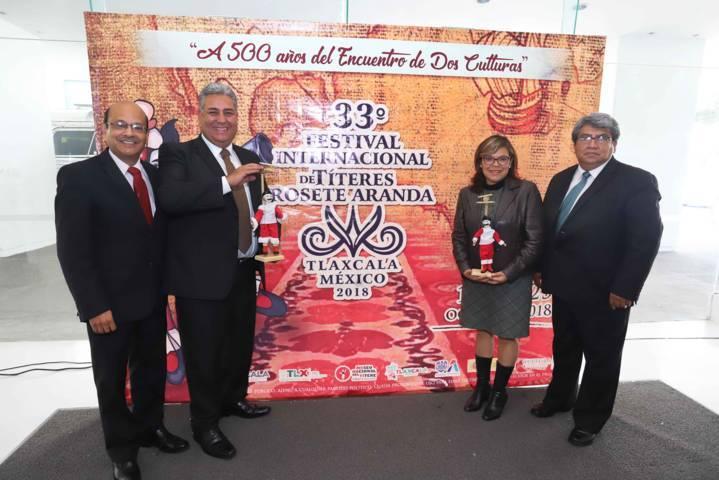 """ITC presenta en CDMX el 33 Festival Internacional De Títeres """"Rosete Aranda"""""""