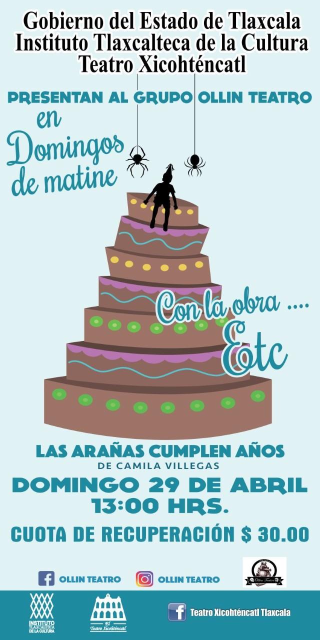 Invita ITC a domingos de matiné en el Teatro Xicohténcatl