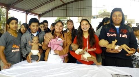 Orienta ITJ a jóvenes de Panotla sobre prevención del embarazo
