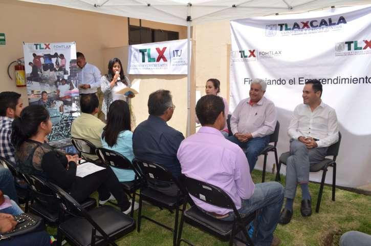 Apoya Gobierno del Estado negocios de jóvenes tlaxcaltecas