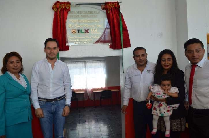 Inauguran un nuevo Centro de Desarrollo Juvenil en Nopalucan