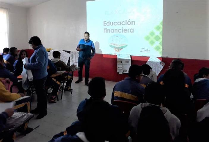 Fomenta ITJ educación financiera entre jóvenes de Xaltocan y Nativitas