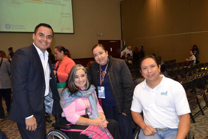 Participa ITPCD en congreso de accesibilidad para personas con discapacidad