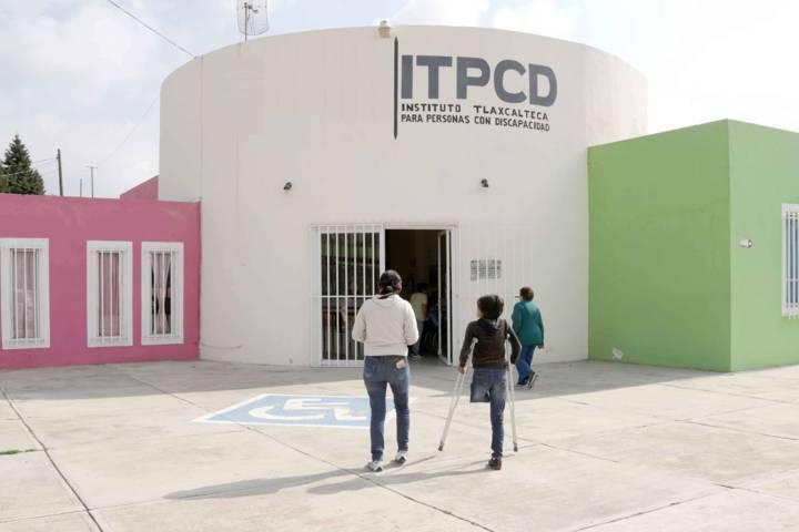 Brinda ITPCD servicios integrales a personas con discapacidad