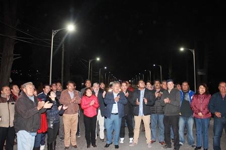 Inauguran nueva iluminación en avenida principal de Ixtacuixtla