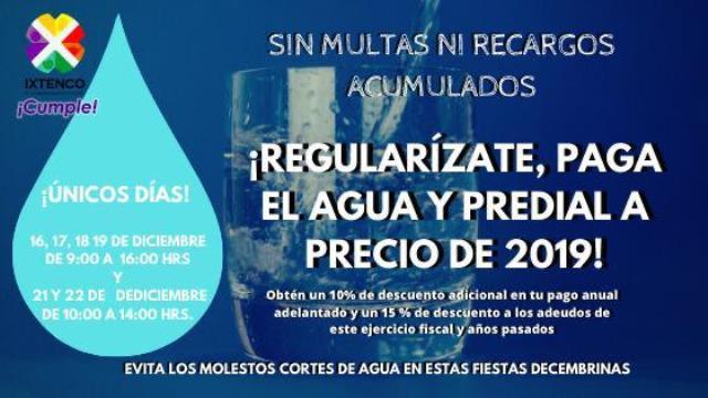 Ixtenco pone en marcha campaña de regularización de agua potable y predial