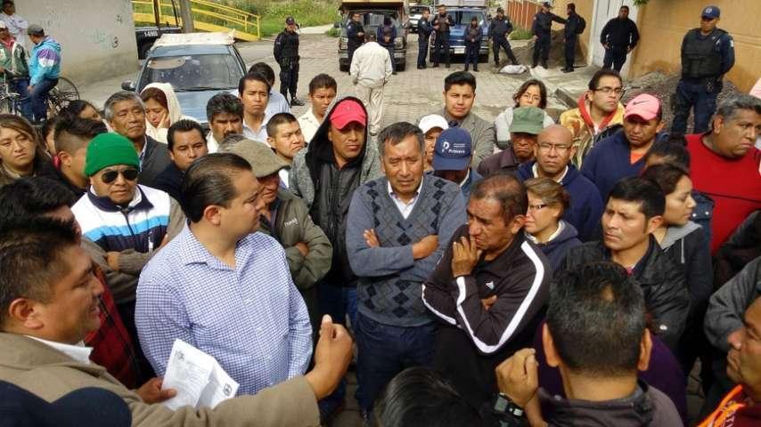 Impiden una vez más instalación de tianguis en Ixcotla