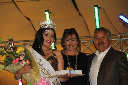 Diana Arely I, la reina de la Feria del Merengue y las Artesanías