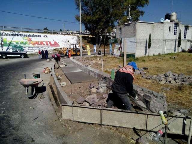 Alcalde se suma a los trabajos de mejoramiento de imagen urbana