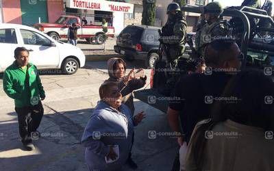 Seguidores de síndico arman zafarrancho en Ixtenco