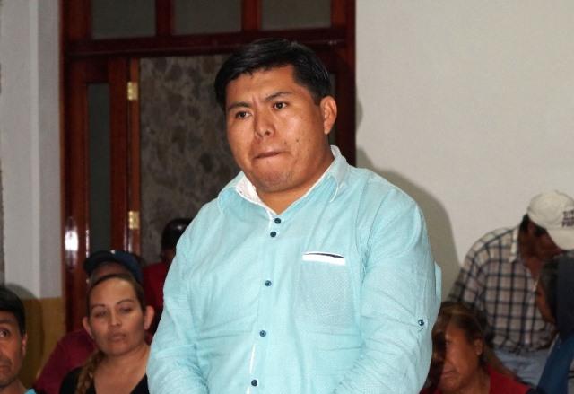 Ratifica Cabildo de Ixtenco a José Luis Aguilar como Secretario del Ayuntamiento