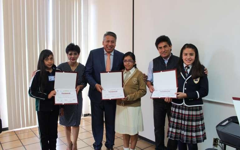 Imparte Coespo taller a integrantes del Parlamento Infantil