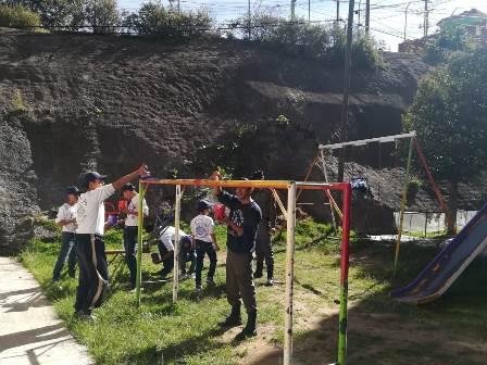 """Realizan """"Jornada de Pintura"""" en la Unidad Habitacional Xicohténcatl"""