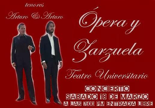 Opera y Zarzuela en el Teatro Universitario de la UAT