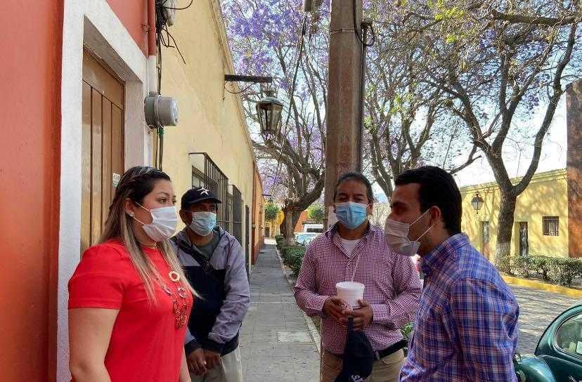 Muestra la alcaldesa de Tlaxcala su interés por el medio ambiente y la flora
